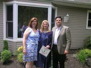 Jill's 8th Grade Graduation
